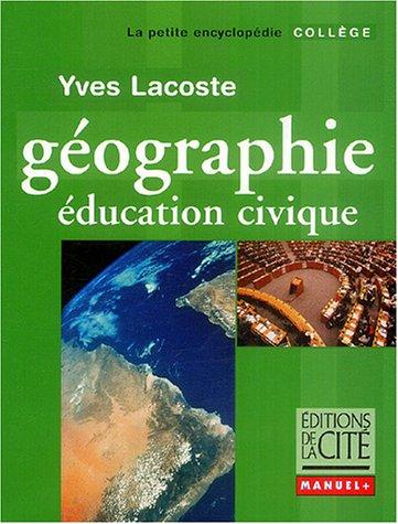 Géographie Education civique : Collège