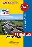 Falk Autoatlas Deutschland 1:500 000-2005/2006 Falkfaltung - mit Postleitzahlen
