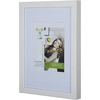 Nielsen Apollo White 60 X 80 Cm Wooden Picture Frames Amazon