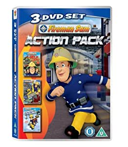 Fireman Sam: Action Pack triple pack (Help Is Here, Mountain Rescue, Snow Trouble) [DVD]