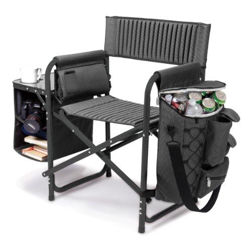tiempo-picnic-silla-plegable-fusion-gris-w-negro-polister-lienzo-marco-de-aluminio