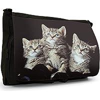 Gattini Nero Grande borsa scuola