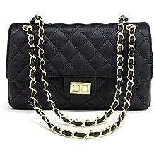403815c8bb Borsa da donna alla moda con catena trapuntata, borsa a tracolla, borsa a  mano