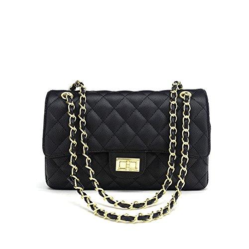 3bc5b0a972 Prezzo Borsa da donna alla moda con catena trapuntata, borsa a tracolla,  borsa a m
