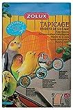 Zolux tapicage Igiene della Gabbia per uccello taglia L ,43 X 28cm