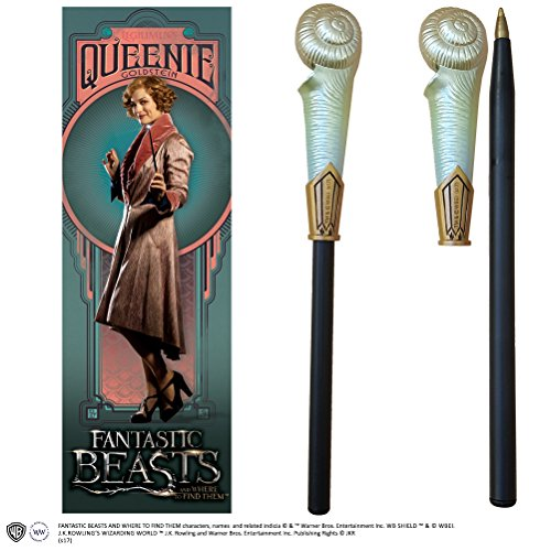 Noble Collection Queenie Goldstein Wand Pen and Bookmark