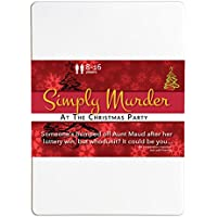 Simply Murder at the Christmas Party 8-16 Player Murder Mystery Flexi Party
