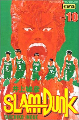 SlamDunk. Tome 10, Sakuragi, le roi du rebond par Takehiko Inoué
