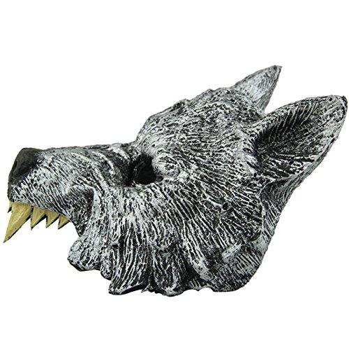 Wolf Maske, Netspower für Cosplay Halloween Masquerade Party Grey für Männer Frauen