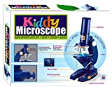 Wish Kart Kiddy Plastic Microscope Including 3 Magnificiant Lenses Science Educational and Learning
