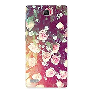 Neo World Floral Pattern Back Case Cover for Xiaomi Redmi Note