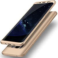 Samsung Galaxy S8 PLUS Case Galaxy S8 Cover 360 Degree Protection 2 in 1 Slim Cover Adamark Shockproof PC Front TPU Back Full Body Coverage Protection Protective Case For Samsung Galaxy S8/S8 PLUS (without Tempered Glass Film Protector)