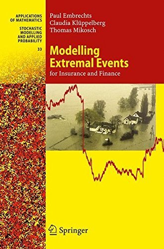 Modelling Extremal Events: for Insurance and Finance (Stochastic Modelling and Applied Probability) by Paul Embrechts (2013-01-02)