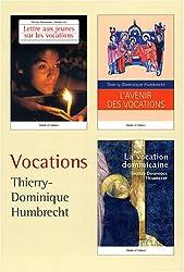 Vocations : Coffret en 3 volumes : L'avenir des vocations ; Lettre aux jeunes sur les vocations ; La vocation dominicaine
