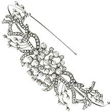 Amazon.it  Cerchietti Per Capelli Sposa - Bridal Wedding Accessories ... 2f3ad1d23cb3