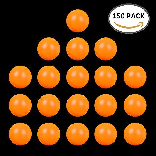 Unbekannt Tischtennisbälle für Training 40mm,150 Stück, Sehr Gut Qualität. (Gelb)