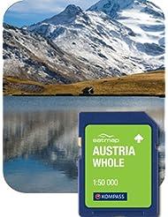 Satmap mapcard: Österreich gesamten (Kompass) 1: 50K