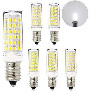 Lamparas Bombillas de LED Casquillo Pequeño E14 11W de Bajo Consumo Luz Fria 6000K El Más Brillante 1000Lm que Bombilla Halogena Incandescente de 60W Lot de ...