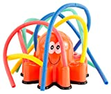 NICK and BEN 100 Wasserbomben Oktopus Mehrfarbig Wasser-Sprinkler Wasser-Spielzeug Garten-Schlauch Wasser-Schlauch Kinder-Spielzeug Pool-Kanone Planschbecken-Pistole Bewässerungsschlauch