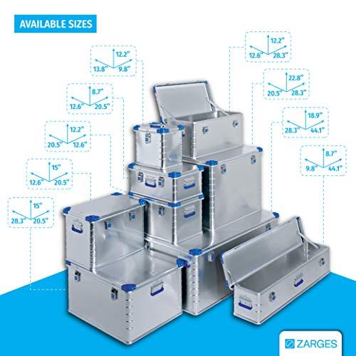 Relags Zarges Eurobox-157 L Box, Silber, 157 Liter - 6