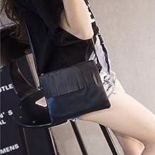 Bolsos de mujer, Switchali mujer moda ofertas Bolsos bandolera Borla Bolso popular Pequeña Bolsa de hombro Totalizador Señoras linda Tote Bolso monedero vintage bolsas de mensajero