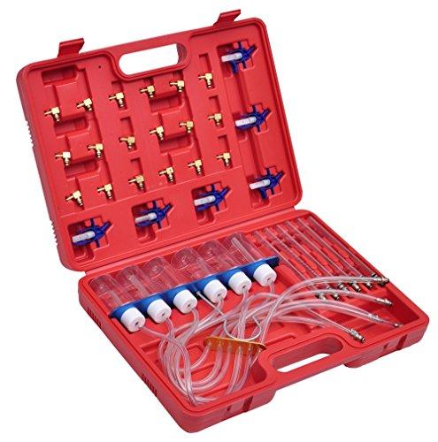 VidaXL 210040 Test-Kit für Einspritzer mit Adapter
