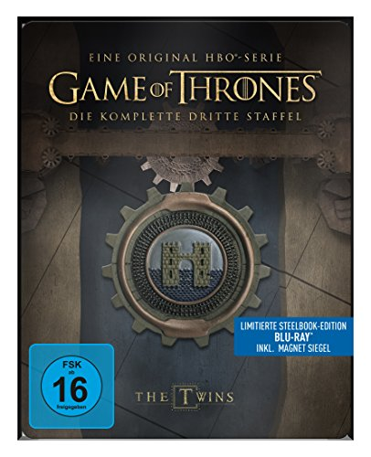game of thrones steelbook staffel 3 Game of Thrones - Staffel 3 - Steelbook [Blu-ray] [Limited Edition]
