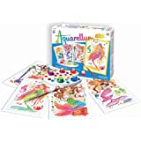 Sentosphere Aquarellum Junior 3900664 paint in Watercolours Drawing Colouring Theme 4: Mermaids