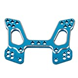 BQLZR 106022 Aluminum Upgrade Parts Front Shock Tower Blue for HSP 1:10 RC Model Car