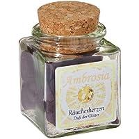 Ambrosia - Räucherherzen im Glas mit Korkverschluß - 12 Herzen à ca. 2g preisvergleich bei billige-tabletten.eu