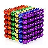 Magnet Balls Toy, Decompressie Speelgoed, Creative Magic Veelkleurige Metal Toy, Perfect Voor Verjaardagsgiften En Office School Home Onderwijs (5 Mm / 216Pcs, 6 Gekleurde)