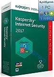 Kaspersky Lab Internet Security 2017, 1 user, 1 anno, Italiano - Kaspersky - amazon.it