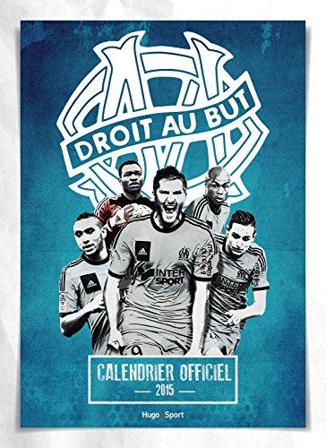 Calendrier mural Olympique de Marseille por Collectif