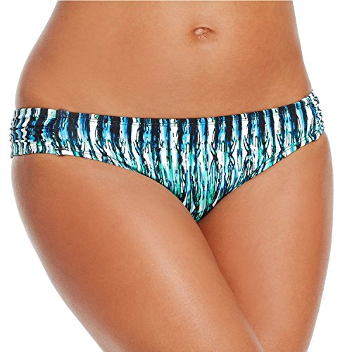 Bar Iii Ruched-Side Hipster Bikini Bottom Women's Swimsuit Small (Side Ruched Hipster)