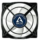 ARCTIC F12 Pro PWM PST - Ventilador caja de 120 mm, absorción de vibraciones, conexión PST (Tecnología de intercambio PWM) y conexión en paralelo