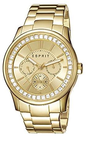 Esprit Damen-Armbanduhr Starlite Analog Quarz Edelstahl beschichtet ES105442008 (Esprit Schmuck Outlet)