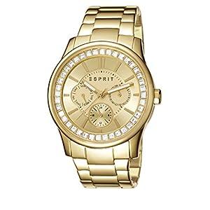 Esprit Damen-Armbanduhr Starlite Rose Analog Quarz