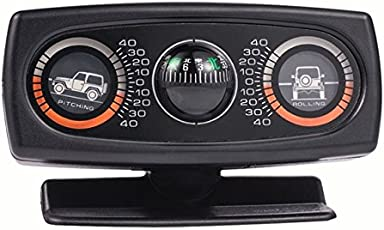 New trends Vehicle Compass Multifunction Car Inclinometer Slope Measure Inclination