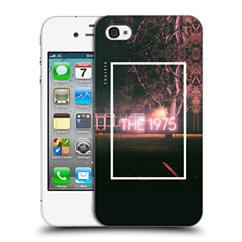 Offizielle The 1975 Loving Someone Lieder Ruckseite Hülle für Apple iPhone 5 / 5s / SE Neon Sign Logo