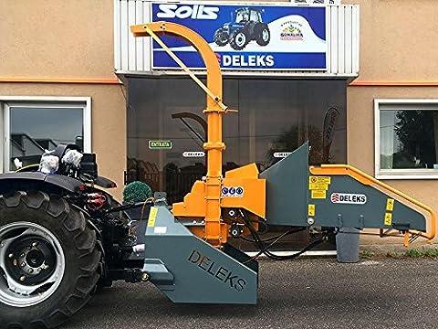 Hydraulic Wood Chipper for tractors New Holland, John Deere, FIAT... DK-2000