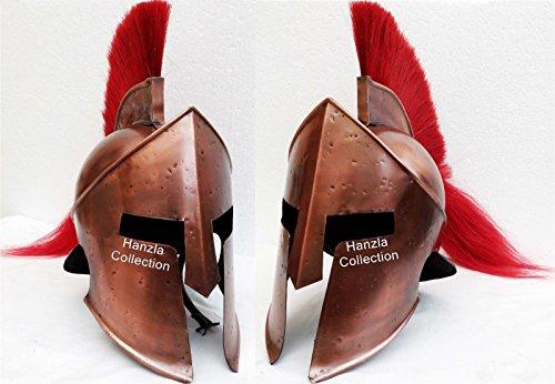 ANTIQUENAUTICAS 300 König Leonidas Griechischer Spartaner Helm Medieval Warrior Armor Römischer Helm