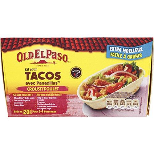 Kit pour tacos avec panadillas - ( Prix Unitaire ) - Envoi Rapide Et Soignée