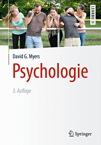 Buchcover Psychologie (Springer-Lehrbuch)