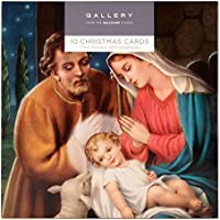 Hallmark Gallery Christmas Card Pack 'Religious' - 10 Cards, 2 Designs