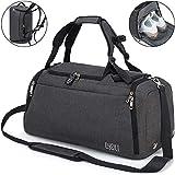 CySILI® Reisetasche Sporttasche mit Rucksack-Handgepäck mit Schuhfach -...