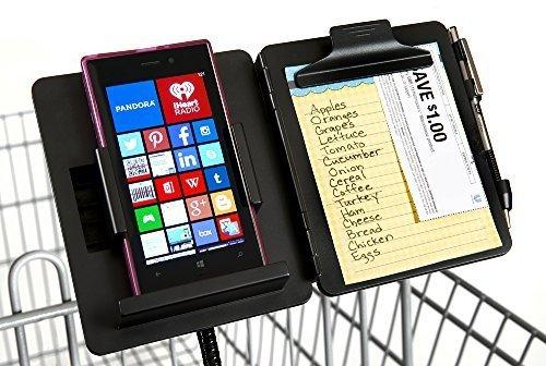 Best buy GuysShopper Black- All Shopping Organizer, Clip Any Cart Baby Stroller Handlebar, Holds Size