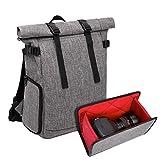 Nosterappou Semplice tridimensionale, un pezzo multi-funzionale leggero, borsa fotografica esterna portatile, multi-funzione per il tempo libero viaggio fotografico borsa zaino, micro singola borsa im