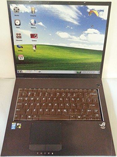 Preisvergleich Produktbild Notebook mit Tastatur aus Schokolade
