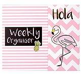 Tropical Organiseur hebdomadaire, Flamingo Thème