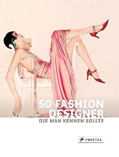 50 Fashion Designer, die man kennen sollte Buch-Cover